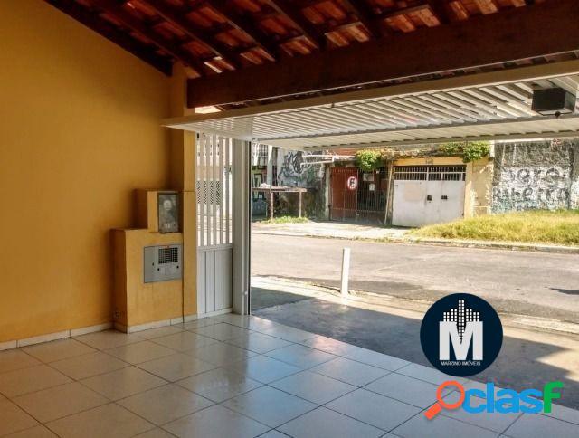 Casa de 120m² com 2 Dorms, Quintal, 2 vagas de garagem - Carapicuíba - SP 1