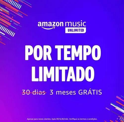 Amazon music 3 meses