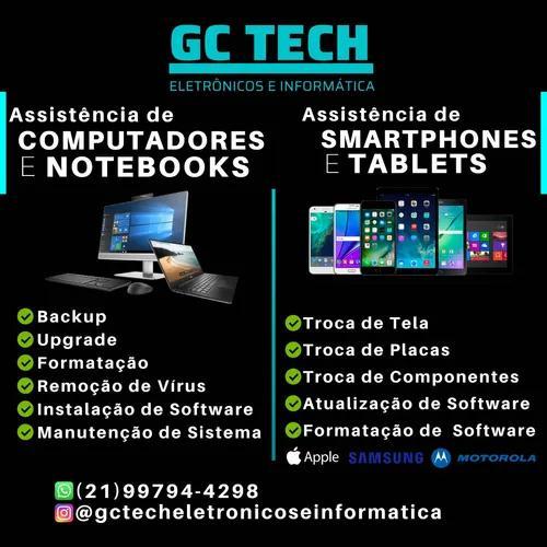Assistência técnica de smartphones/tablets