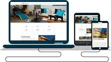 Criamos seu site responsivo