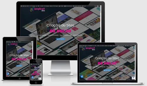 Criação de site profissional responsivo