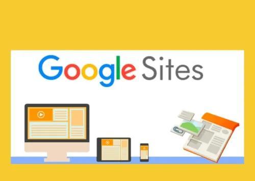 Criação de sites - googles sites