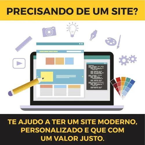 Criação de sites personalizados com hospedag