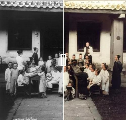 Foto preto e branco para colorido