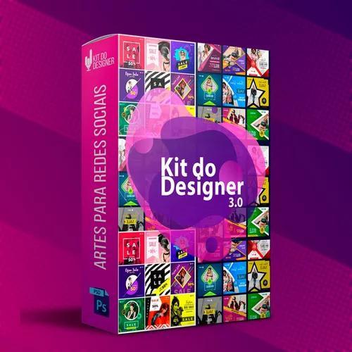 Kit designer 3.0 pack 800mil arquivos editaveis