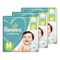 Kit fraldas pampers confort sec tam m