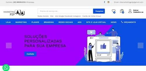 Loja virtual / ecommerce wordpress completa responsiva