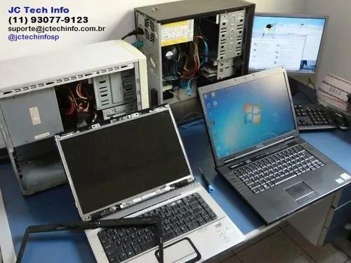 Manutenção de computadores, notebooks e impressoras