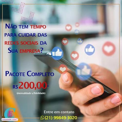 Pacote especial para gestão de redes sociais