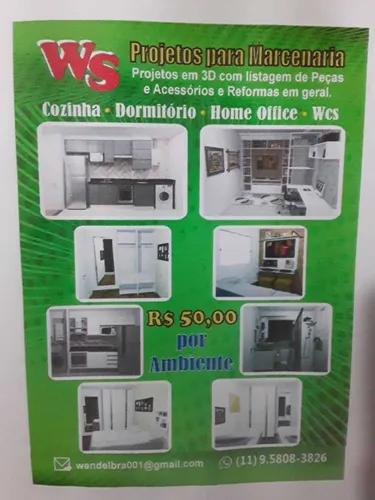 Projetos moveis planejados cozinha sala dormitorios wcs