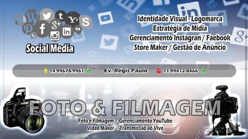 Publicidade, social mídia e material gráfico