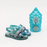 Sandália Grendene Infantil Disney Frozen Snow Power Azul