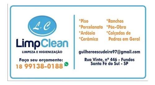 Serviços de limpeza e higienização