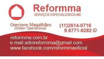 Serviços de manutenção residencial= construção e