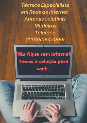Serviços De Rede De Internet, Wi-fi, Antenas Coletivas