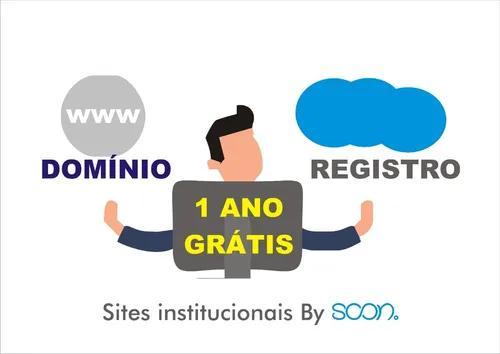 Site institucional - faça já seu site com a soon.!