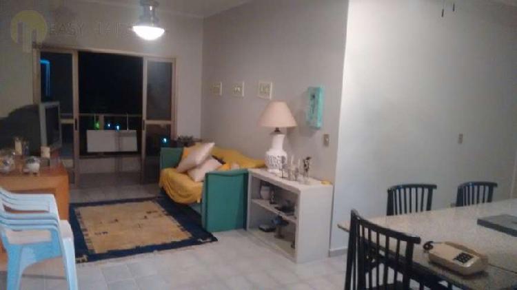 Apartamento mobiliado em jardim las palmas - guarujá