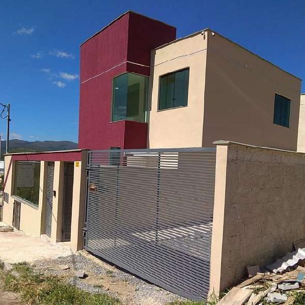 Casa de 3 quartos á venda no bairro villa real - sabará -