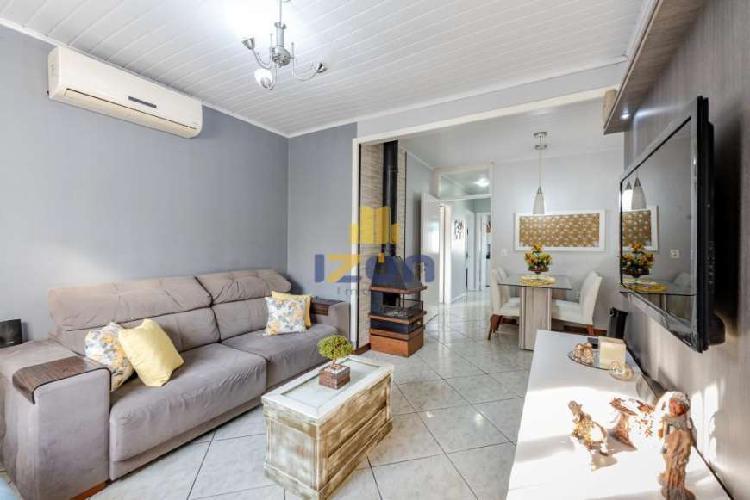 Casa térrea, 03 dormitórios, bairro são josé, canoas/rs