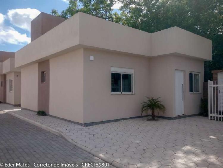 Casas em condomínio fechado com 2 quartos no centro de