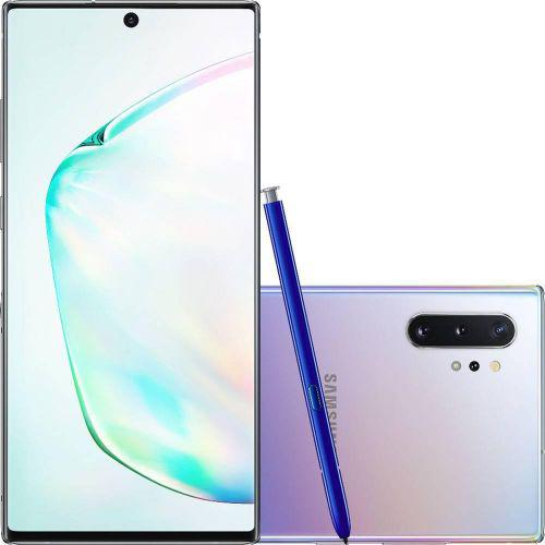 Celular samsung galaxy note 10 plus prata 256gb tela 6.8 cam