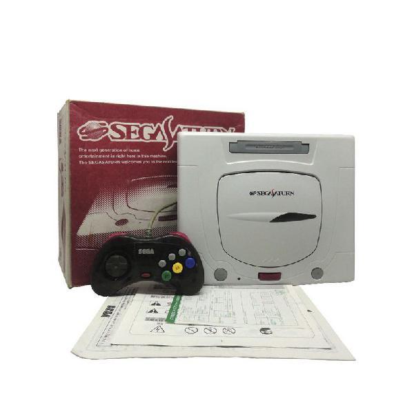 Console sega saturn - sega (japonês)