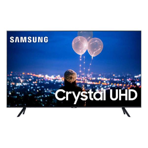 "Smart tv 50"" samsung crystal uhd 4k 2020 un50tu8000 borda"