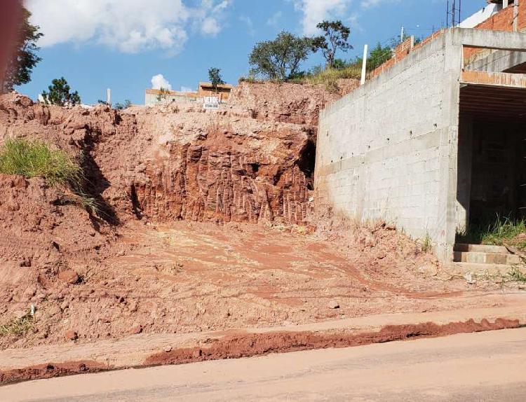 Terreno com 300 m2 -terraplanagem pronta- financia bradesco
