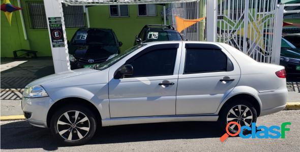 Fiat siena el 1.4 mpi fire flex 8v 4p prata 2012 1.4 flex