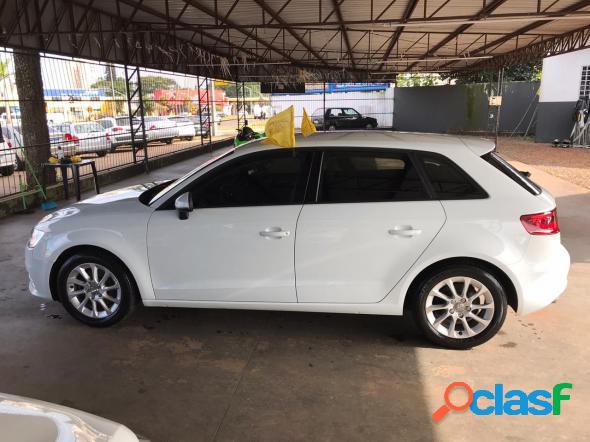 Audi a3 sportback 1.4 tfsi s-tronic branco 2014 1.4 gasolina