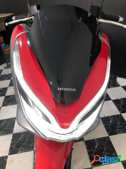 Honda pcx 150 sport prata 2019 150 gasolina