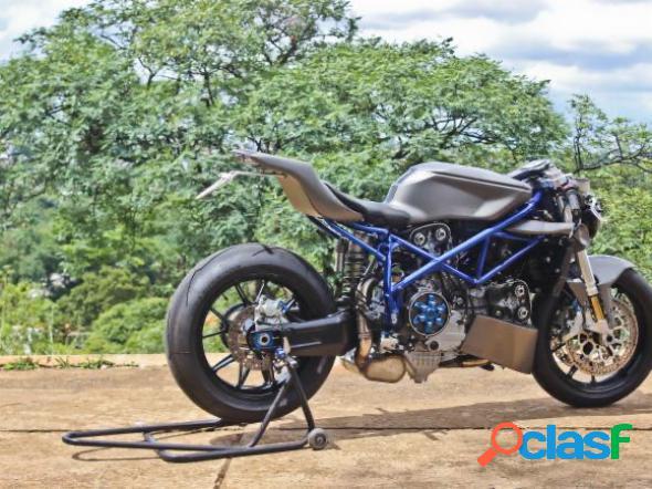 Ducati ducati 999 street fighter cinza 2006 999cc gasolina