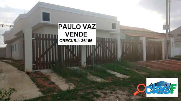Casas novas araruama rj fazendinha 2 quartos r$ 125.000,00 #vdcs346