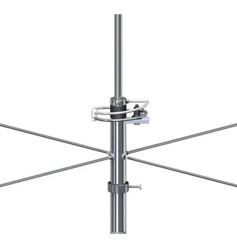 Antena vhf 2x5/8 de onda base 6db steelbras - ap0249