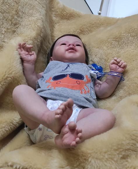 Bebê reborn menino (encomenda)