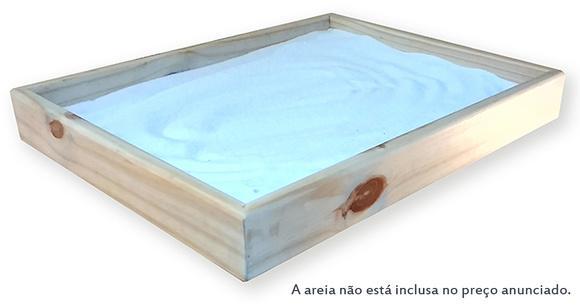 """Caixa de areia de brincar - """"sandplay"""""""