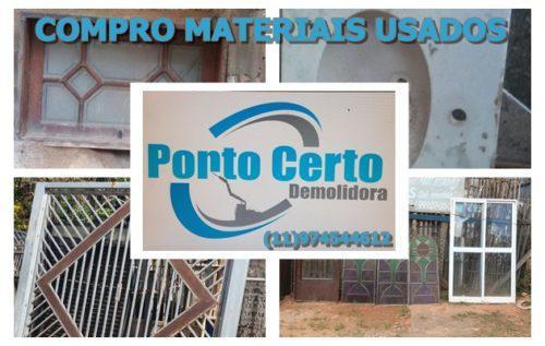 Compro materiais usados em barra funda
