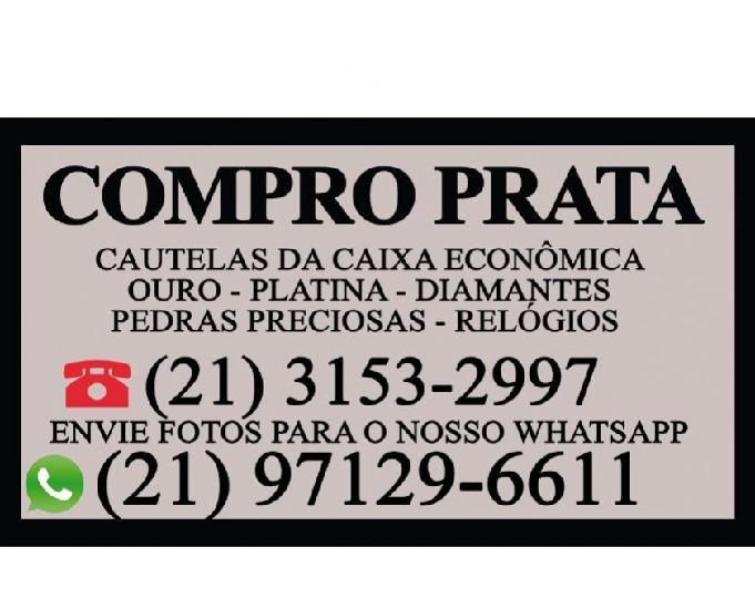 Compro pratarias pratas em geral whatsapp: (21) 97129-6611