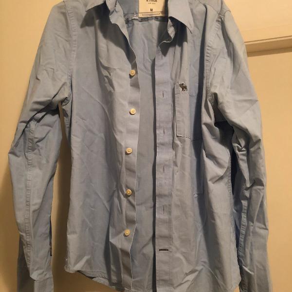 Camisa abercrombie azul