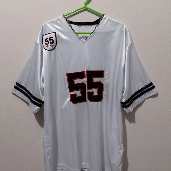 Camiseta estilo futebol americano branca