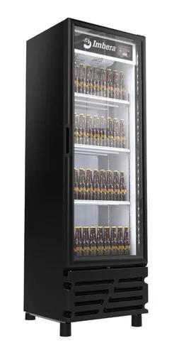Cervejeira expositor imbera 450l porta vidro 315 preta 220v