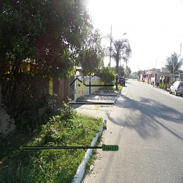 Cordeirinho-maricá/rj, terreno c/497,13 m², multifamiliar,