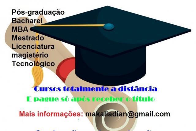 Cursos online - graduação e pós em pouco tempo