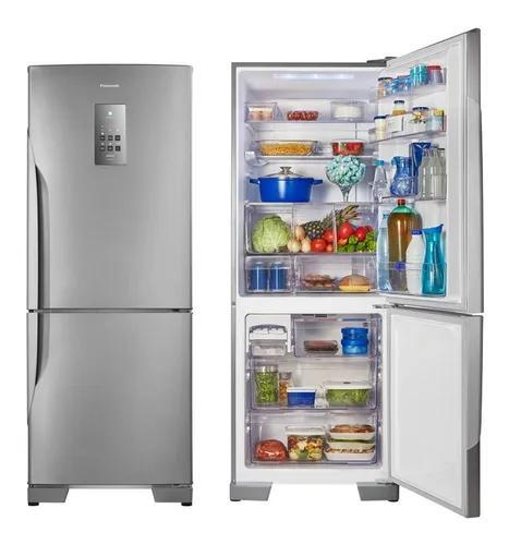 Geladeira panasonic frost free 2 portas 425 litros bb53pv3x