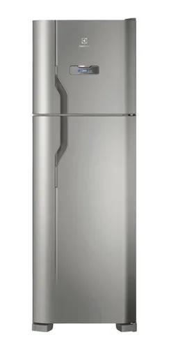 Geladeira refrigerador duplex dfx41 degelo 371 l electrolux
