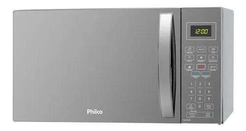 Micro-ondas de bancada philco espelhado 26l 127v pmo26es