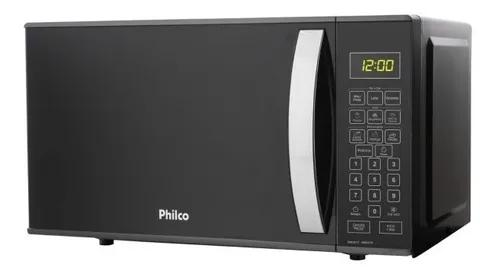 Microondas 21 litros philco pmo21t preto 110v
