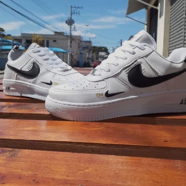 Nike air force branco/preto 42