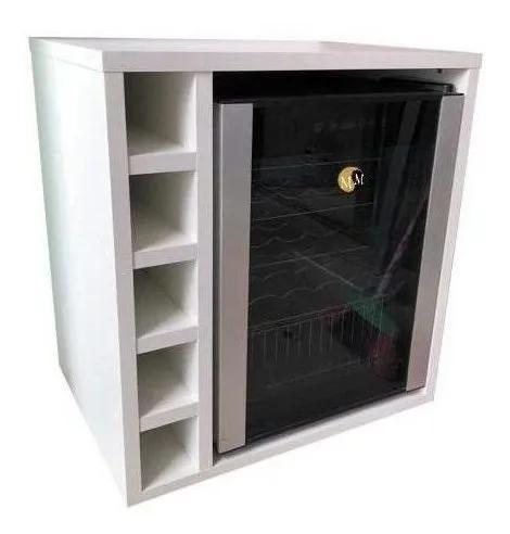 Nicho adega suporte frigobar armário mdf móveis mariano