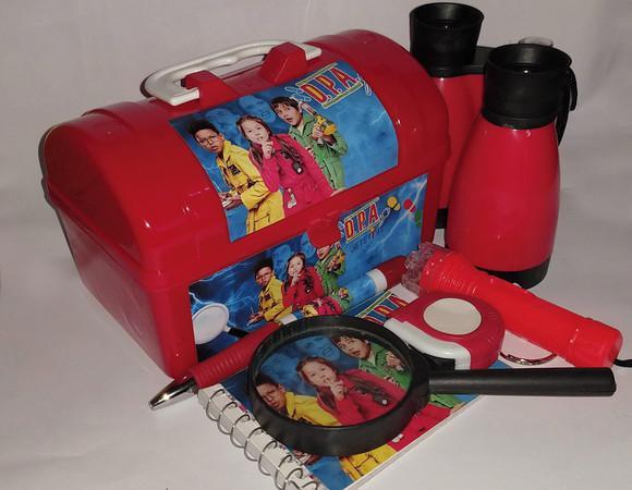 Pronta entrega kit detetive vermelho dpa 07 itens